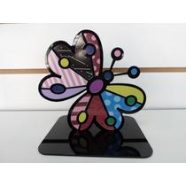 Pedestal Borboleta Romero Britto, Butterfly