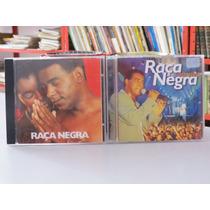 Lote Com 2 Cds Raça Negra Samba Pagode Promoção Original!