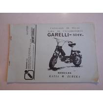 Catalogo De Peças Garelli 50cc Kátia & Eureka