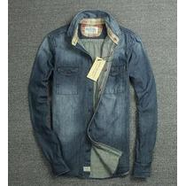 Camisa Jeans Ralph Lauren Masculina Importada