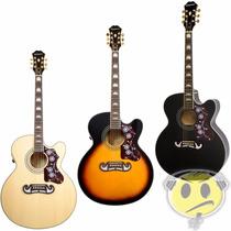 Violao Epiphone Jumbo Ej200 Ce Gibson Jumbo Kadu Som