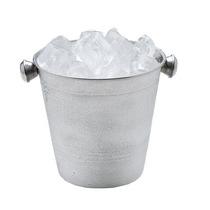 Kit 15 Baldes Para Gelo Em Inox - 1,5 Litros- 14 Cm Com Alça