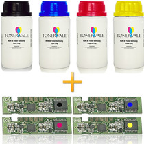 Toner Refil + Chip Samsung Clp 365 365w Clx 3305w 3305fw 406