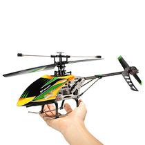 Helicóptero V912 4ch Wltoys Controle 2.4ghz Completo