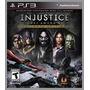 Injustice Ultimate Edition Ps3 (leia A Descrição)