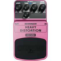Pedal Efeito Behringer Hd300 Guitarra Heavy Distortion 2798