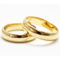 Par De Alianças 4mm Para Casamento Noivado Moedas Antigas