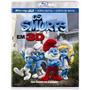 Blu-ray Os Smurfs 3d+2d+conto De Natal Original E Seminovo