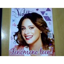 Revista Poster Disney Violetta Nº03 Fenômeno Teen