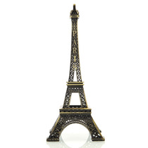 Miniatura Torre Eiffel Cor Bronze 18cm