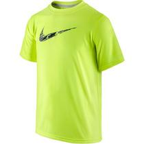Camiseta Básica Infantil Menino Rain Camo Swoosh Tee Nike