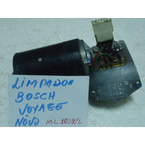 Vw - Motor Do Limpador Para Brisas Gol E Voyage Bosch Okm.