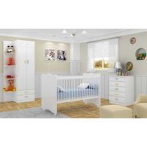 Kit Quarto Completo Bebê 3 Peças - Frete Light