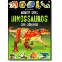 Monte Seus Dinossauros Com Adesivos