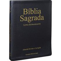 Bíblia Sagrada Letra Extra Gigante Rc Luxo Sbb Frete Grátis