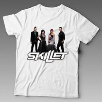 Camiseta Skillet Banda De Rock N