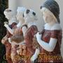 Esculturas Marmore Carrara Coloridas Estações Do Ano