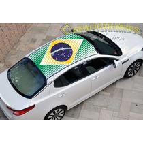 Adesivo Teto Ou Capo Carro Bandeiras Copa 2014