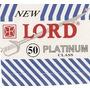 Lamina De Barbear Lord Platinum (gilete) Cartela C/50 Unid