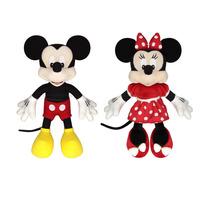 Boneco Pelúcia Disney Mickey E Minnie Vermelha - Original