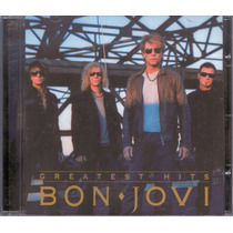 Bon Jovi - Greatest Hits - Cd Raro Novo Original E Lacrado