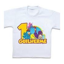 Camiseta Personalizada Galinha Pintadinha