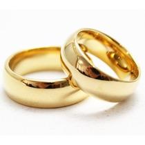 Par De Alianças 7mm Para Casamento Noivado Moedas Antigas