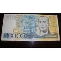 C176 - 100.000 Cruzeiros Mbc ( + + ).- Difícil