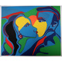 Rubens Gerchman - Beijo - Sofisticada Serigrafia 72cm X 95cm