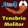 200 Larvas Vivas Tenebrio Molitor Frete Grátis