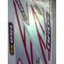 Jogo Adesivo Moto Bros 150 Ks Vermelha 2008