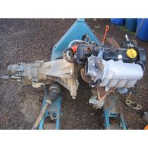 Motor 2.0 Santana Ano 96 Com Injeção E Caixa De Cambio.