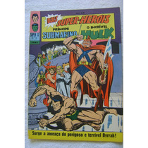 Super X No.12( Principe Submarino/o Incrivel Hulk) Ago 1968