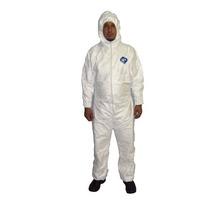 Macacão Branco Pintura Químico Tyvek