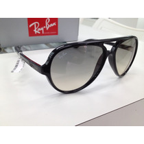 Oculos Solar Ray Ban Rb4125 Cats 5000 601/32 Made In Italy