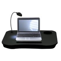 Mesa Apoio De Notebook Netbook Suporte Almofada Luminária