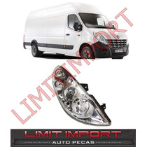 Farol Renault Master Lado Esquerdo Ano 2014