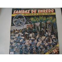 Disco Vinil Lp Sambas De Enredo Carnaval 86 Lindoooooooooo##