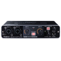 Roland Ua-55 Quad-capture - Interface De Áudio Usb 2.0 + Nfe