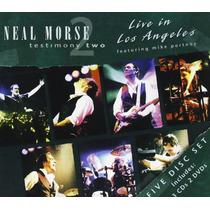 Cd/dvd Neal Morse Testimony 2 Live In La (boxset) [eua] Novo