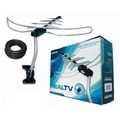 Antena Externa Digital Aquario Dtv3000 +cabo+suporte+manual