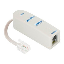 Conector Filtro Para Tefefonia Micro Filtro Adsl 1 Saída