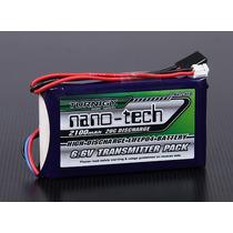 Bateria Life Turnigy Nanotech 1700mah 2s 6.6v Para Receptor