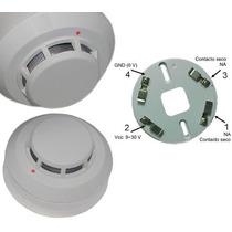 Sensor/detector Ótico De Fumaça - 4 Fios - 12 Ou 24 V