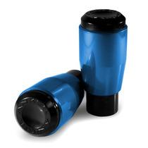 Slider Anker Dianteiro Cbr600 Rr 2007/2009 Azul Anodizado