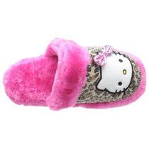 Pantufa Paetês Hello Kitty Sanrio - Pronta Entrega, Brinde