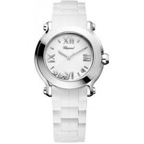 Relógio Chopard - Happy Sport Round Diamond White