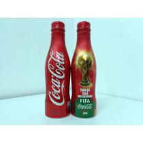 Tc! Garrafinha Coca Cola Tour Taça Fifa Copa 2014 250 Ml