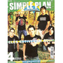 Revista Pôster Simple Plan = Poster Gigante 52cm X 81cm! Ahh