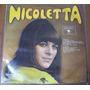 Disco Lp Nicoletta Cantora Francesa Antigo Anos 60 Raro